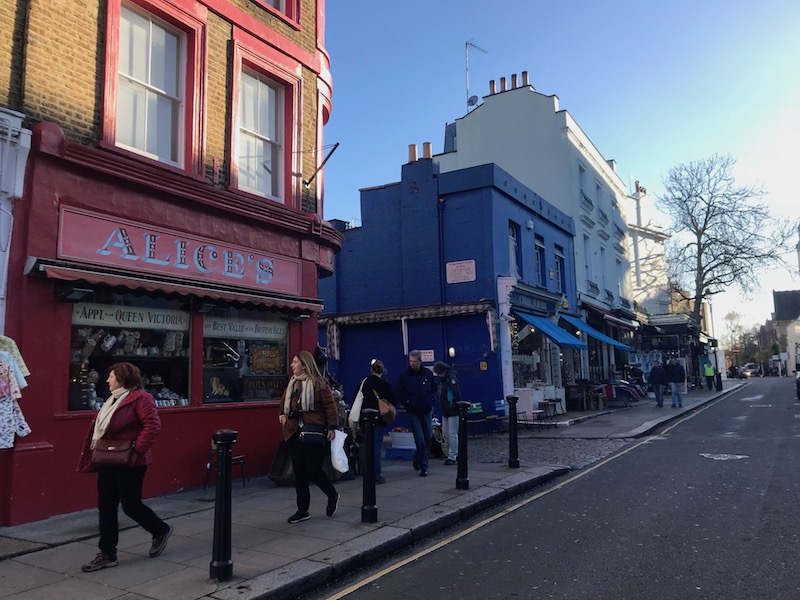 Passeio em Notting Hill Londres